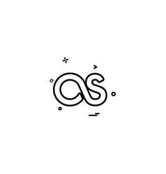 Lastfm icon design vector