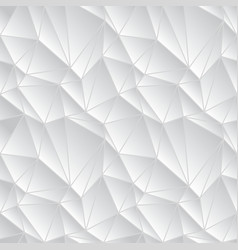 light gray geometric background of the triangles vector image