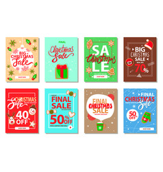 merry christmas holly jolly cookies and presents vector image