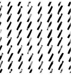 short diagonal lines hand drawn seamless pattern vector image