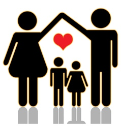 Family home vector