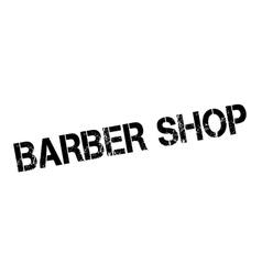Barber shop rubber stamp vector