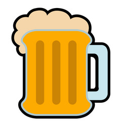 Isolated beer icon image vector