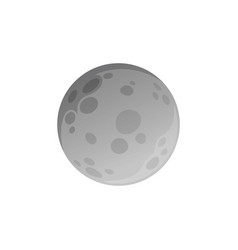 Isolated moon made in flat style vector