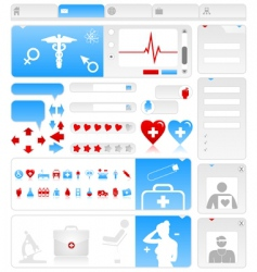 Medical site vector