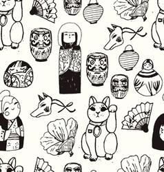 Treasures from Japan vector