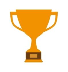 Trophy cup winner vector