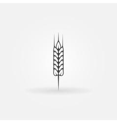 Wheat icon or logo vector