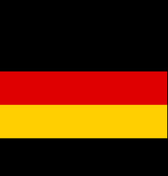 flag of germany national symbol of the state vector image