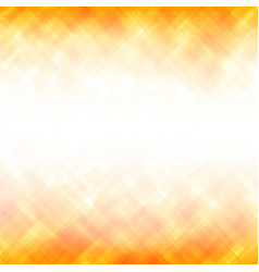 abstract yellow square background vector image vector image