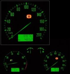 car panel vector image