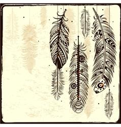 Ethnic Dream catcher vector image vector image