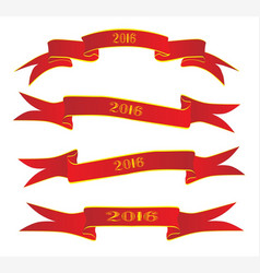 banner for 2016 vector image