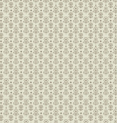 Beige seamless paisley vector