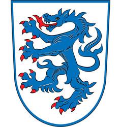 Coat of arms of ingolstadt in upper bavaria in vector