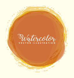 colorful watercolor design vector image