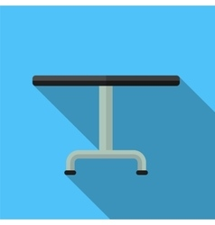 Table flat icon vector image