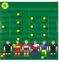 World Cup 2014 Group B vector image