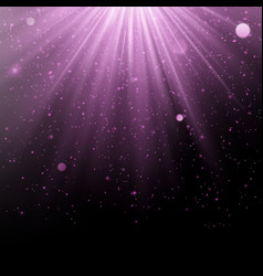 Abstract purple overlay effect shimmering object vector