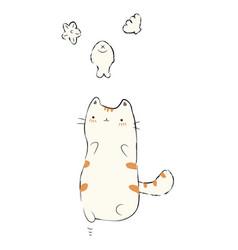 Cat kwi vector