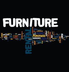 Good reasons why a furniture rental may make good vector