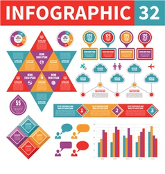 Infographic Elements 32 vector image