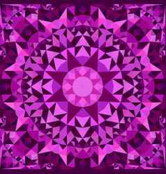 Purple abstract seamless triangle mosaic vector