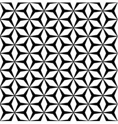 repeat geometric texture polygonal floral ornament vector image