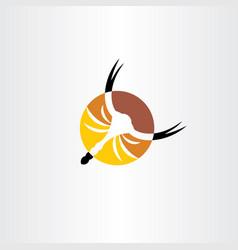 scorpion icon design logo vector image