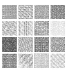 Seamless pattern of rough hatching grunge texture vector
