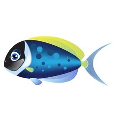 Small tropical fish vector