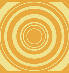 yellow circle on orange backdrop vector image