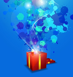 artistic anniversary celebration vector image