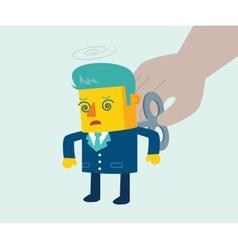 Business windup vector image