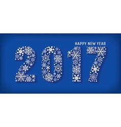 2017 Happy new year banner vector