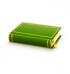 Blank cover vector