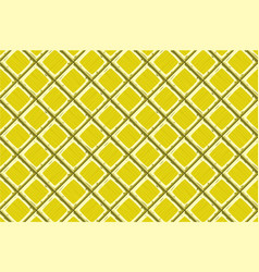 Cartoon hand drown yellow old diagonal seamless vector