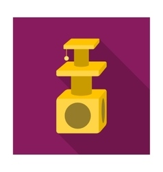 Cat houses icon of for web and vector