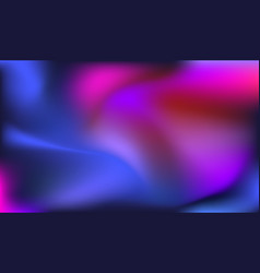 Colorful flowing gradient background vector