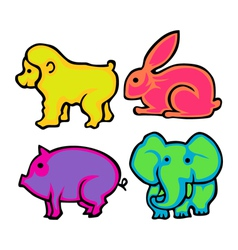 Cute Animals Pack vector