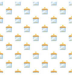Donation box pattern vector