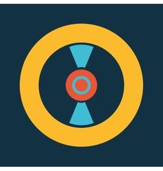 disc design vector image