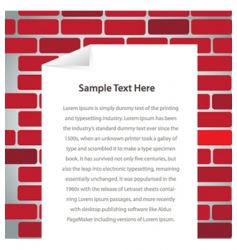 text frame vector image vector image