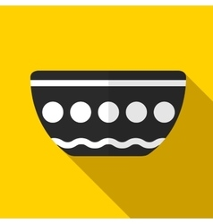 Bowl icon vector image vector image