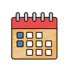 Calendar icon imag vector