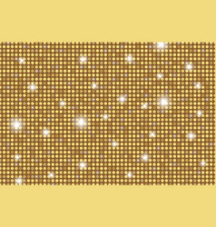 Gold shining rounds seamless texture gold vector