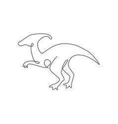 one single line drawing aggressive vector image