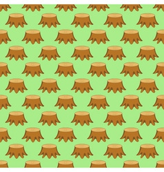 Stump pattern vector image