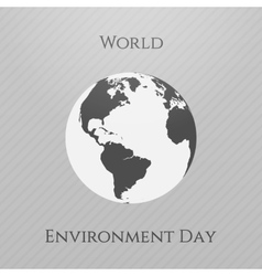 World environment day awareness background vector
