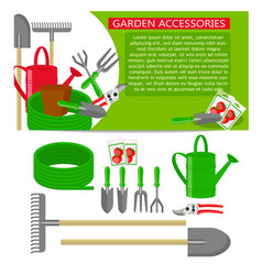 Gardening tools icons isolated on white background vector
